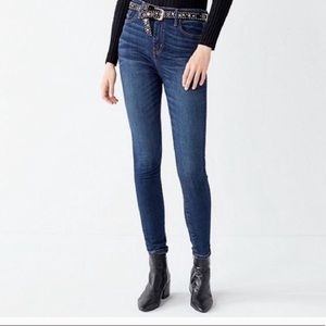 BDG by urban outfitter high rise twig ankle jeans